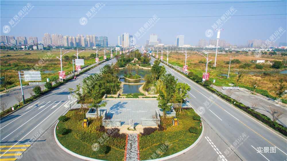 新西塘孔雀城翡翠天宸实景图3